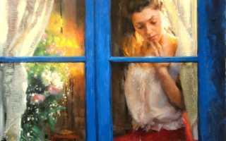 Стих «Эта женщина в окне»